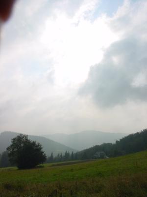 Widok na Baranią Górę