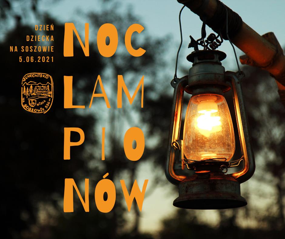 noc lampionów