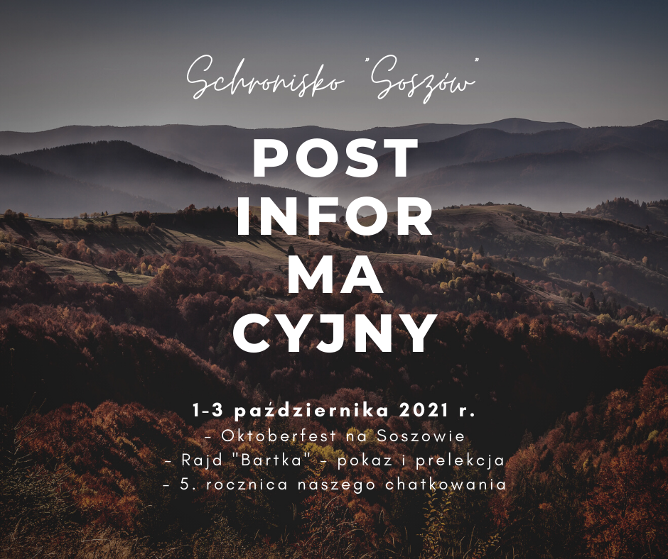 Schronisko Soszów info
